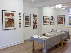 Circles Unbound Exhibition 2016 by artist Suzanne Bethell